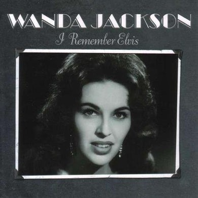 Wanda Jackson REMEMBER ELVIS Vinyl Record