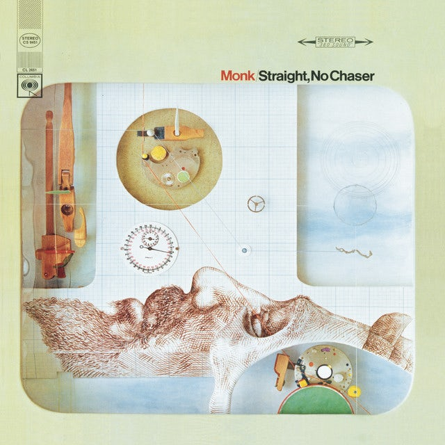 Thelonious Monk STRAIGHT NO CHASER Vinyl Record