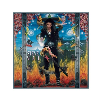 Steve Vai PASSION & WARFARE Vinyl Record