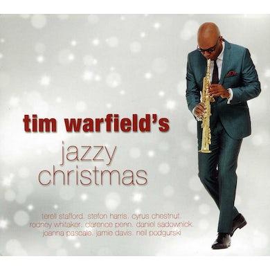 TIM WARFIELD'S JAZZY CHRISTMAS CD