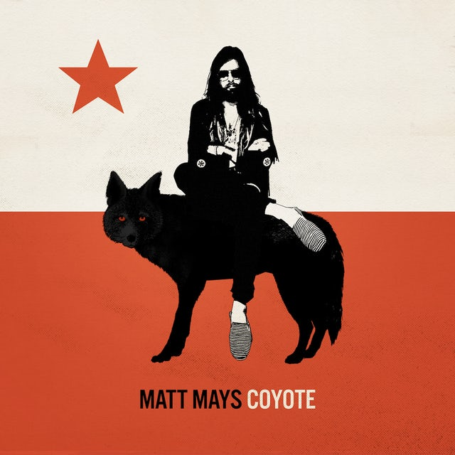 Matt Mays COYOTE Vinyl Record