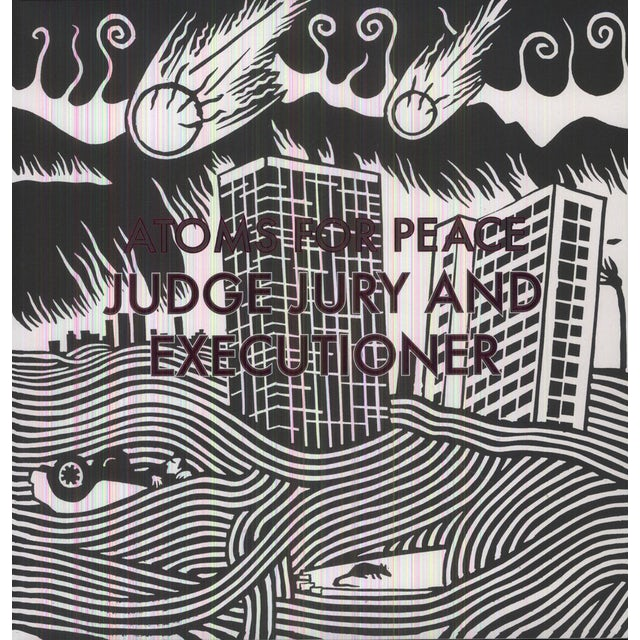 Atoms For Peace JUDGE JURY & EXECUTIONER Vinyl Record