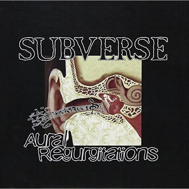 Subverse AURAL REGURGITATIONS CD