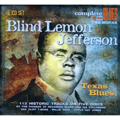 Blind Lemon Jefferson TEXAS BLUES CD