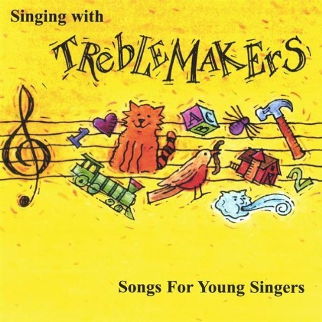 SINGING WITH TREBLEMAKERS: OUR FAVORITE FOLK SONGS CD