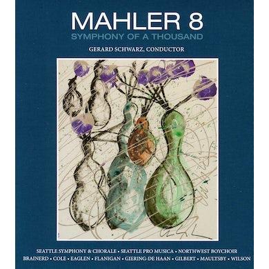 Seattle Symphony MAHLER'S EIGHTH SYMPHONY CD