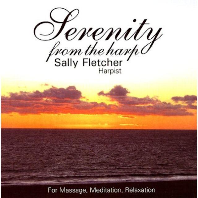 Sally Fletcher SERENITY FROM THE HARP CD