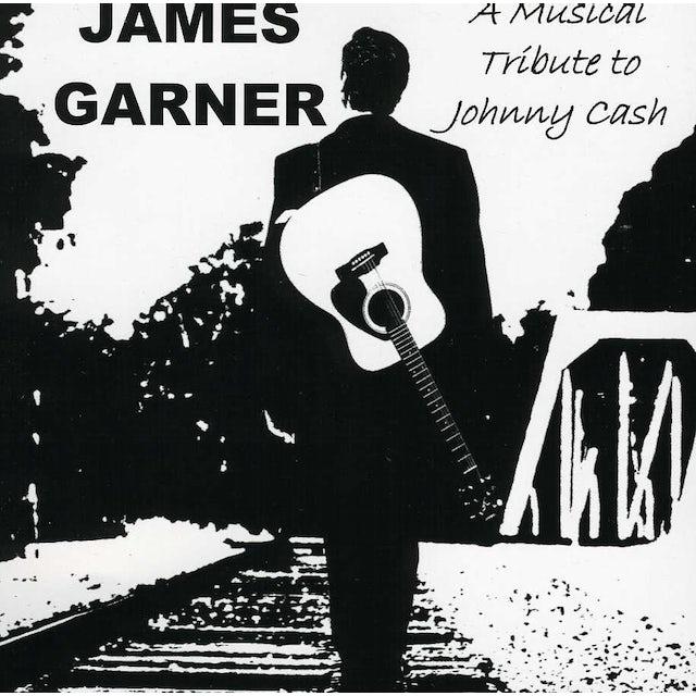 James Garner MUSICAL TRIBUTE TO JOHNNY CASH CD