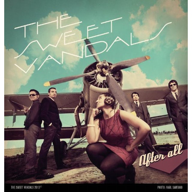 The Sweet Vandals AFTER ALL Vinyl Record