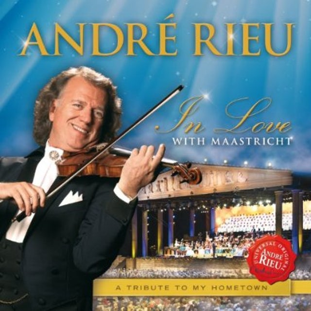 Andre Rieu IN LOVE WITH MAASTRICHT: TRIBUTE TO MY HOMETOWN CD