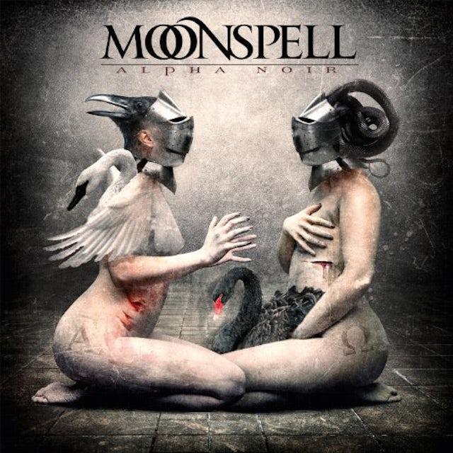 Moonspell ALPHA NOIR / OMEGA WHITE Vinyl Record - Colored Vinyl