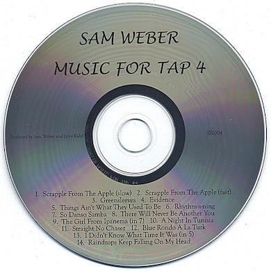 Sam Weber MUSIC FOR TAP 4 CD
