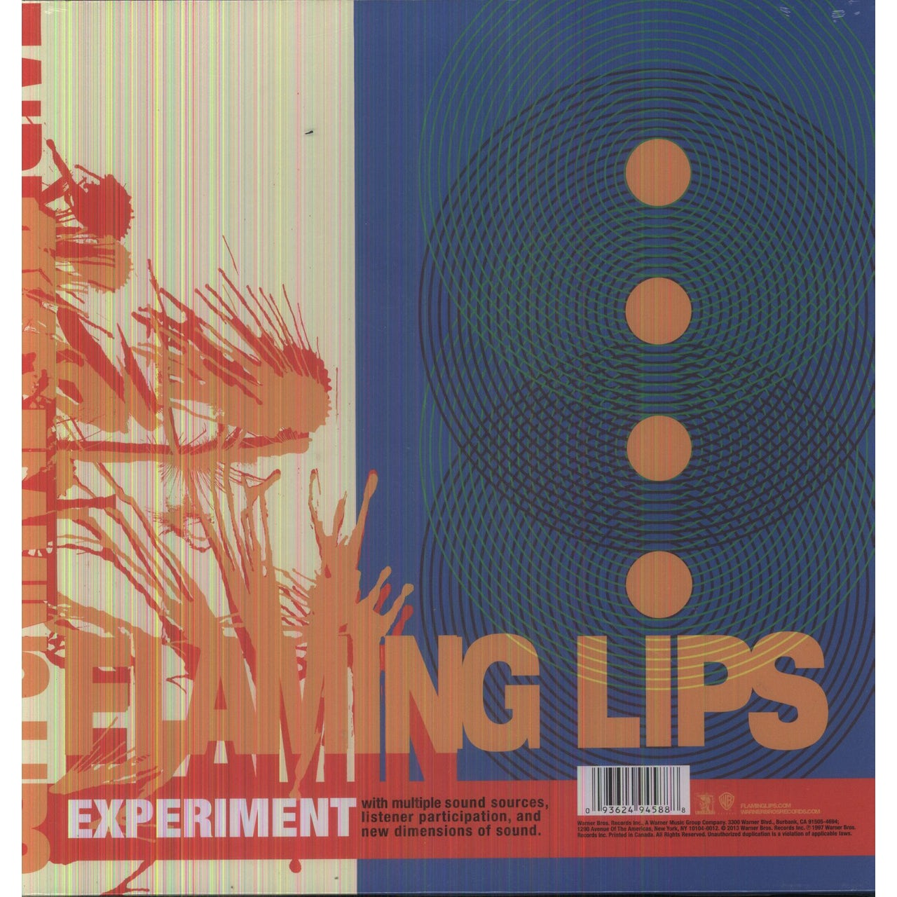 The Flaming Lips Zaireeka Vinyl Record