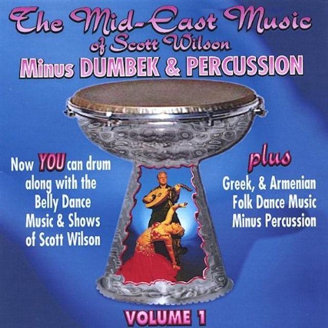 Scott Wilson MID-EAST BELLY DANCE MUSIC MINUS DRUM CD