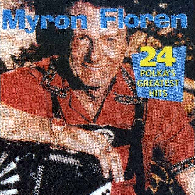 Myron Floren 24 POLKA'S GREATEST HITS CD
