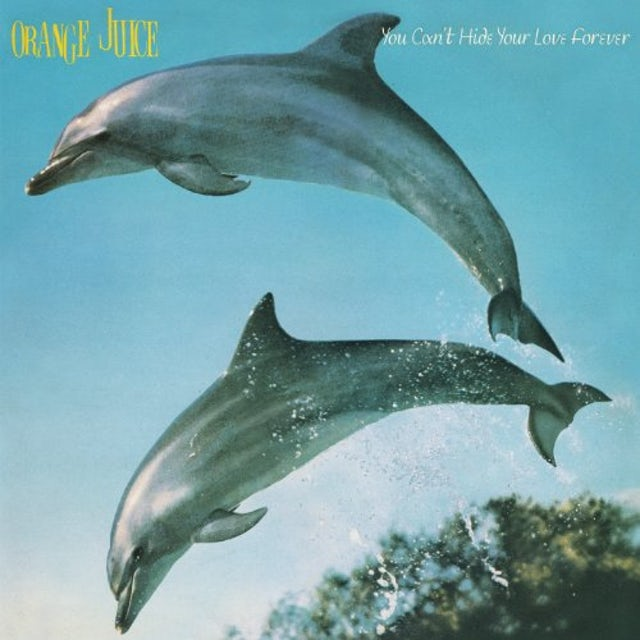 Orange Juice YOU CAN'T HIDE YOUR LOVE FOREVER Vinyl Record