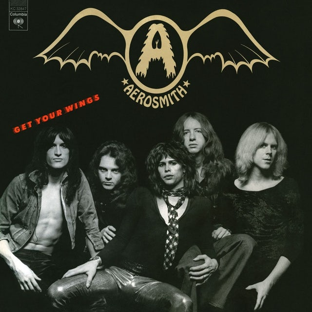 Aerosmith GET YOUR WINGS Vinyl Record