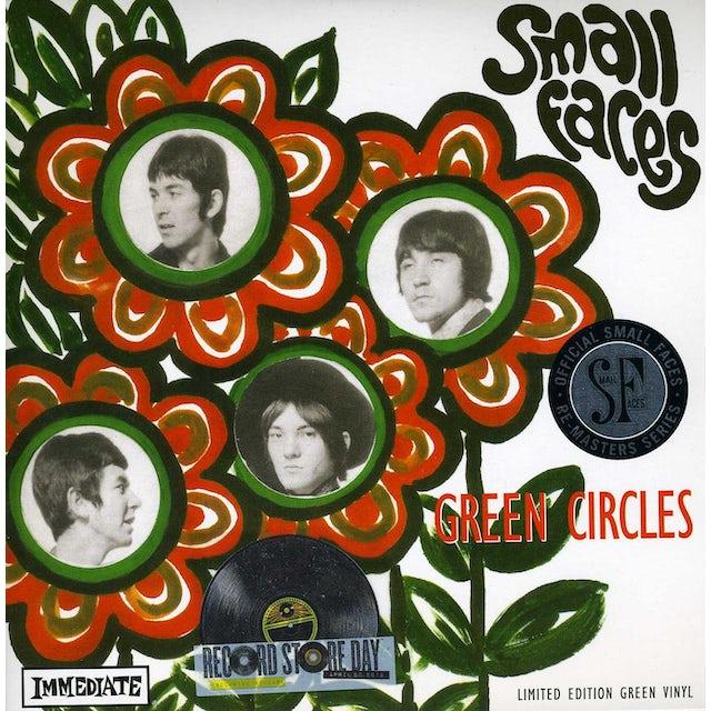 Small Faces GREEN CIRCLES Vinyl Record