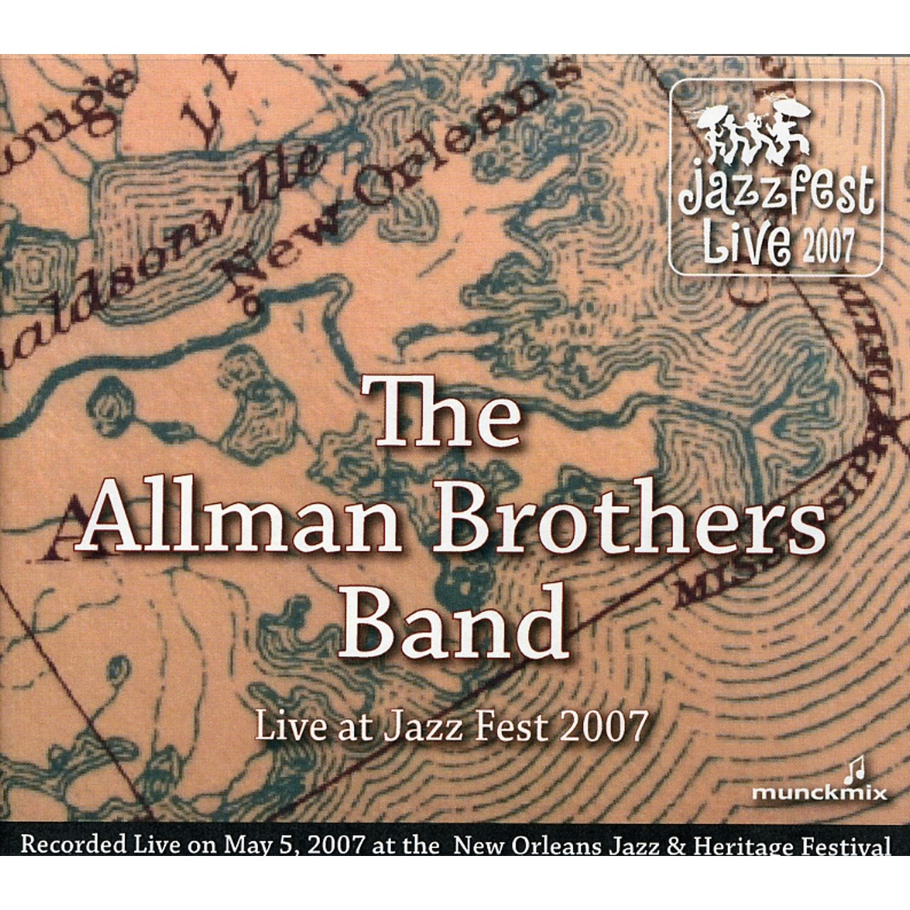 The Allman Brothers Band LIVE AT JAZZ FEST 2007 CD
