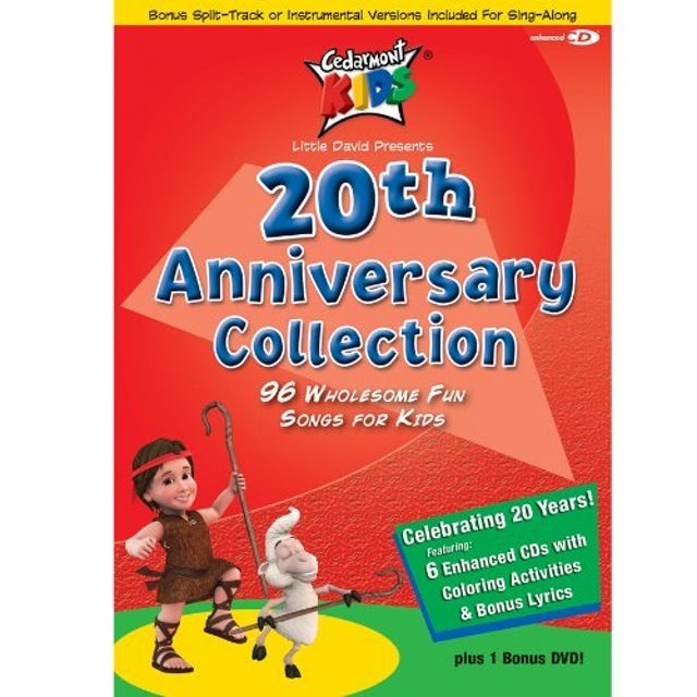 Cedarmont Kids 20TH ANNIVERSARY COLLECTION CD