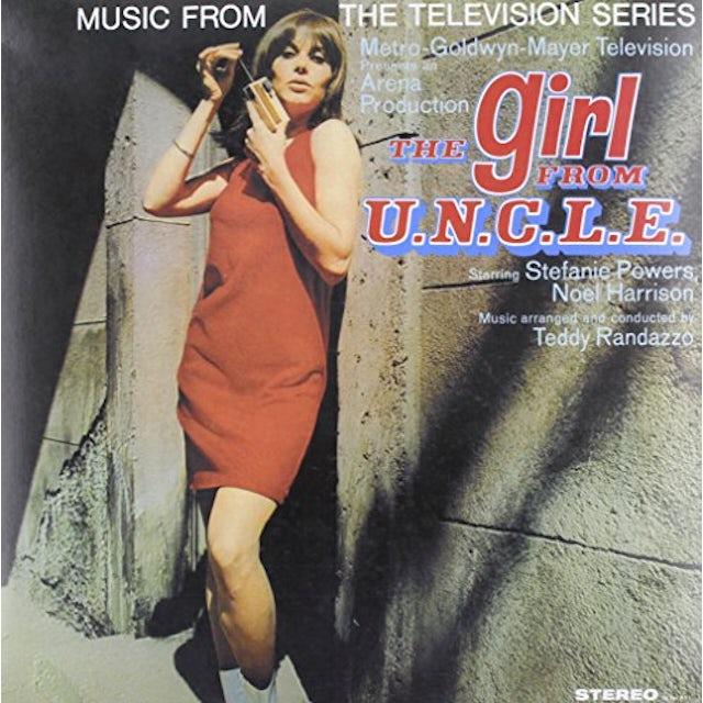 Music From Tv Series Girl From U.N.C.L.E. / O.S.T. MUSIC FROM TV SERIES GIRL FROM U.N.C.L.E. / Original Soundtrack Vinyl Record