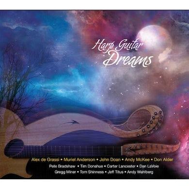 Alex De Grassi HARP GUITAR DREAMS CD