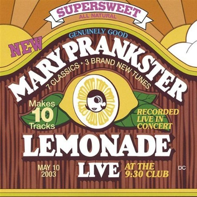 Mary Prankster LEMONADE: LIVE CD