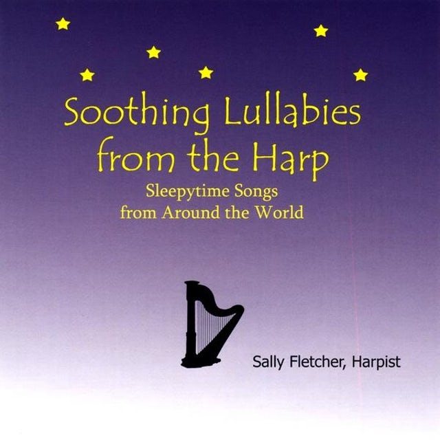 Sally Fletcher SOOTHING LULLABIES FROM THE HARP CD
