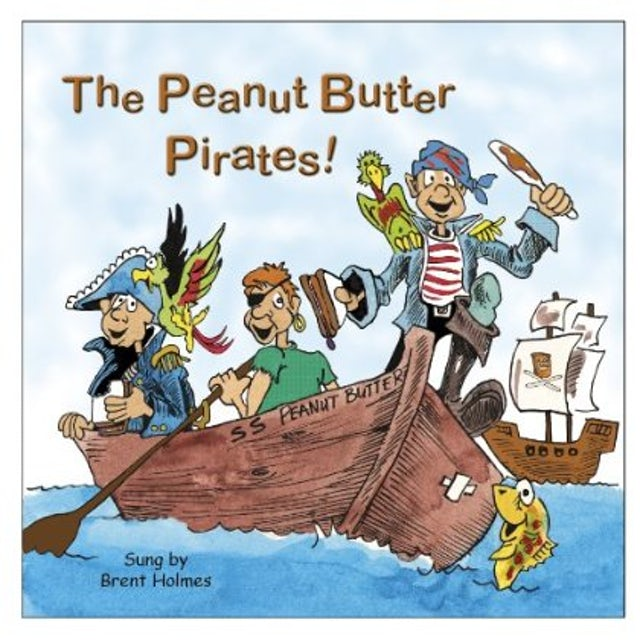Brent Holmes PEANUT BUTTER PIRATES CD