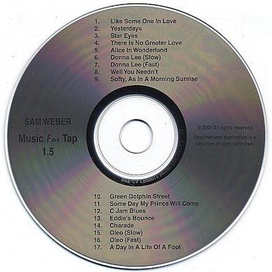Sam Weber MUSIC FOR TAP 1.5 CD