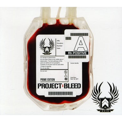 Asia PROJECT BLEED CD