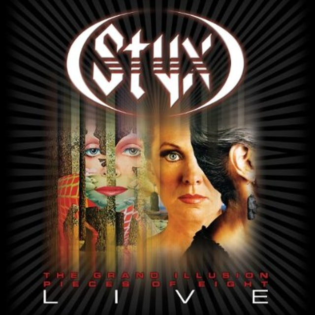 Styx GRAND ILLUSION & PIECES OF EIGHT LIVE CD