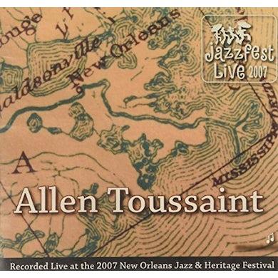 Allen Toussaint JAZZ FEST 2007 CD