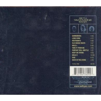 Seth Yacovone DANNEMORA CD