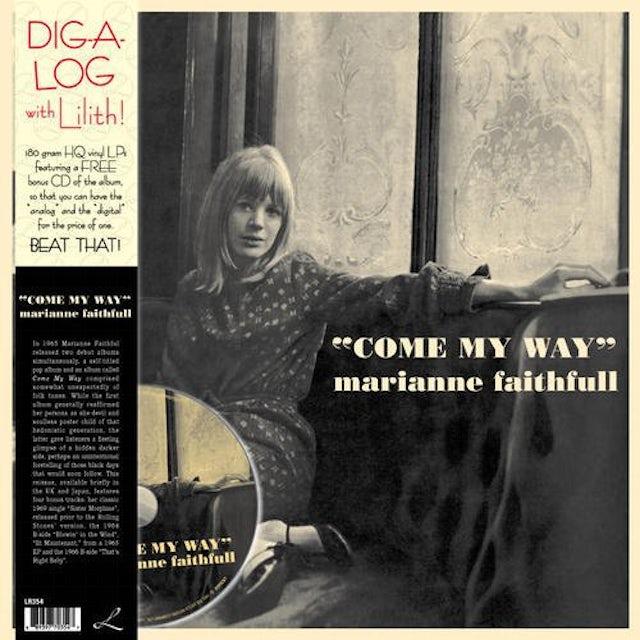 Marianne Faithfull COME MY WAY Vinyl Record - w/CD