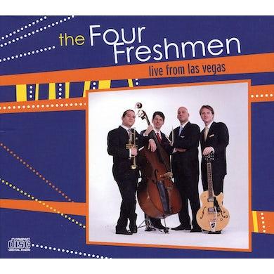 Four Freshmen LIVE FROM LAS VEGAS CD