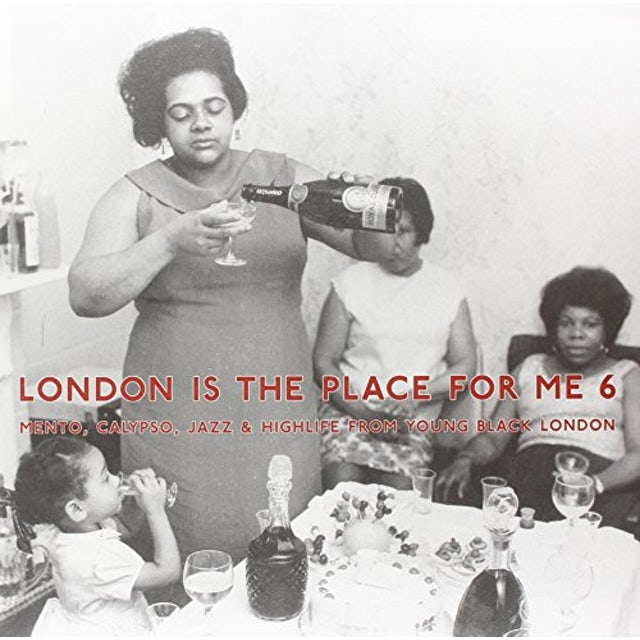 London Is The Place For Me 6: Mento Calypso / Var Vinyl Record