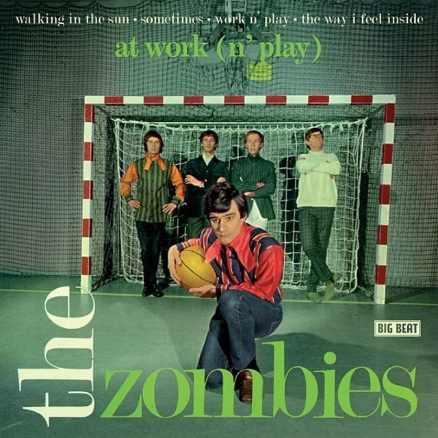 The Zombies AT WORK Vinyl Record