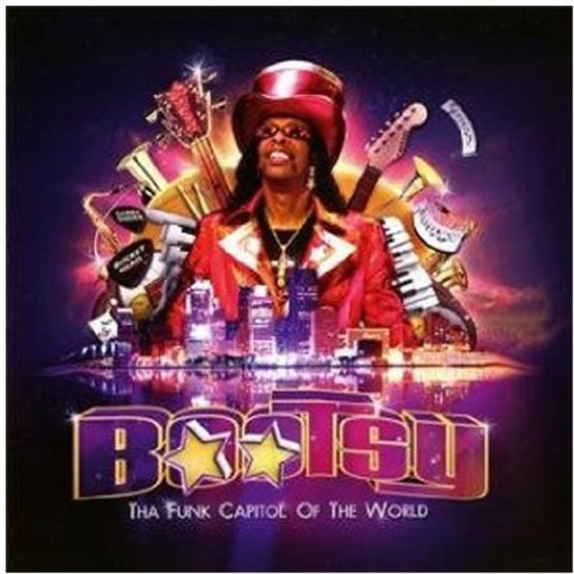 Bootsy Collins FUNK CAPITAL OF THE WORLD (Vinyl)