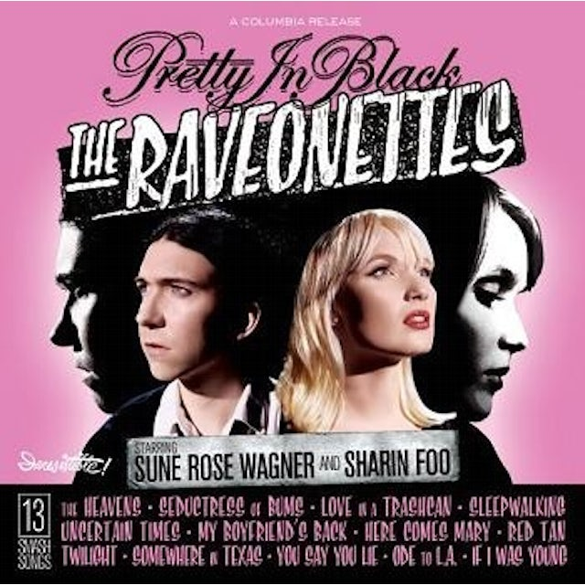 The Raveonettes PRETTY IN BLACK Vinyl Record
