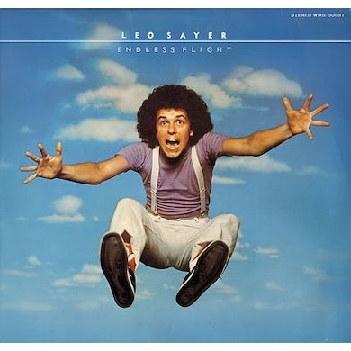 Leo Sayer ENDLESS FLIGHT Vinyl Record
