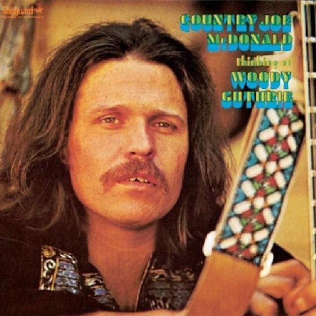 Country Joe McDonald THINKING OF WOODY GUTHRIE CD
