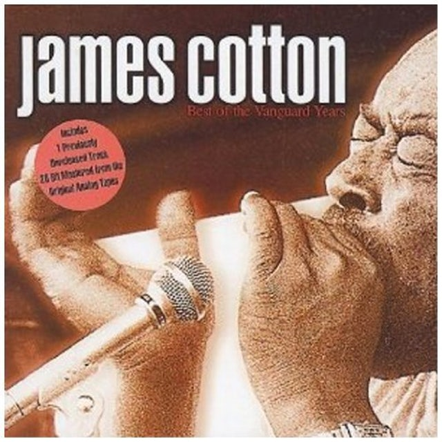 James Cotton BEST OF THE VANGUARD YEARS CD