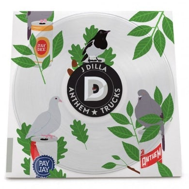 J Dilla ANTHEM / TRUCKS Vinyl Record