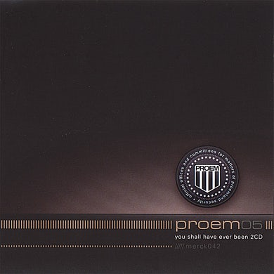 proem YOU SHALL HAVE EVER BEEN CD