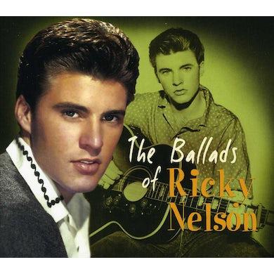 BALLADS OF RICKY NELSON CD