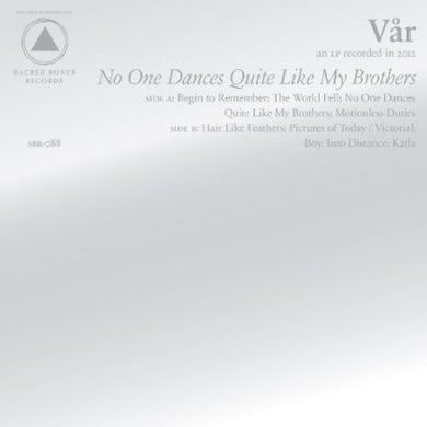 Var NO ONE DANCES QUITE LIKE MY BROTHERS CD