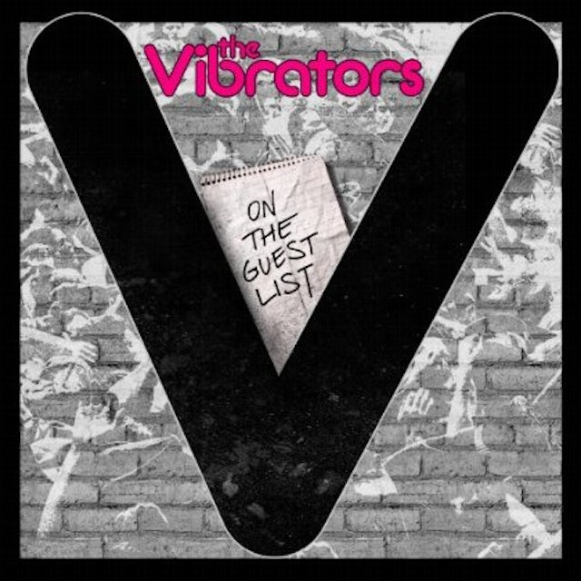 The Vibrators ON THE GUEST LIST CD