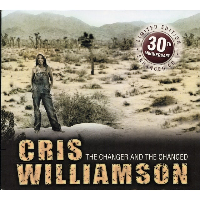 Cris Williamson CHANGER & CHANGED: 30TH ANNIVERSARY CD