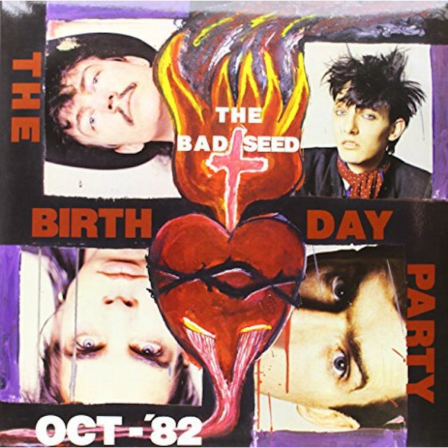 The Birthday Party MUTINY / BAD SEED (EP)   (WSV) Vinyl Record - Limited Edition, 180 Gram Pressing
